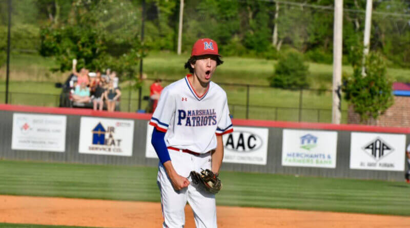 Marshall Academy wins two games at home to advance to state title series